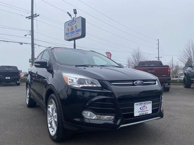 2013 Ford Escape for sale at S&S Best Auto Sales LLC in Auburn WA