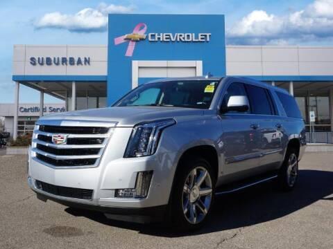 2020 Cadillac Escalade ESV for sale at Suburban Chevrolet of Ann Arbor in Ann Arbor MI