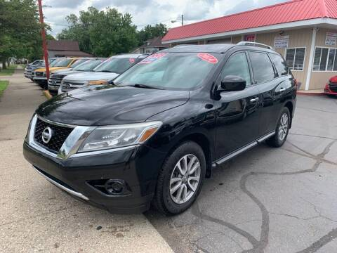 2014 Nissan Pathfinder for sale at THE PATRIOT AUTO GROUP LLC in Elkhart IN