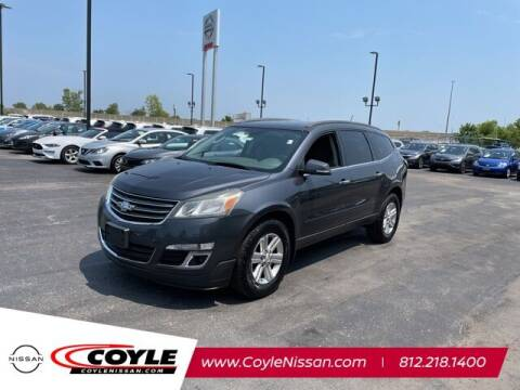 2013 Chevrolet Traverse for sale at COYLE GM - COYLE NISSAN - New Inventory in Clarksville IN
