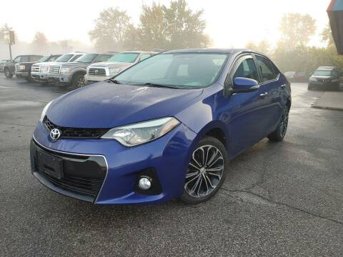 2014 Toyota Corolla for sale at Cruisin' Auto Sales in Madison IN