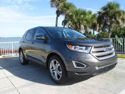 2017 Ford Edge for sale at Best Deal Auto Sales in Melbourne FL