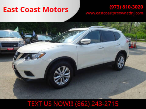 2016 Nissan Rogue for sale at East Coast Motors in Lake Hopatcong NJ
