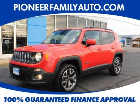 2017 Jeep Renegade for sale at Pioneer Family Preowned Autos in Williamstown WV