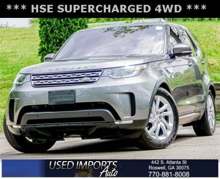 2017 Land Rover Discovery for sale at Used Imports Auto in Roswell GA