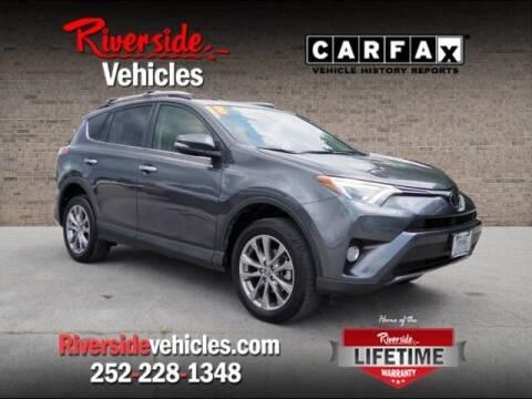 2018 Toyota RAV4 for sale at Riverside Mitsubishi(New Bern Auto Mart) in New Bern NC