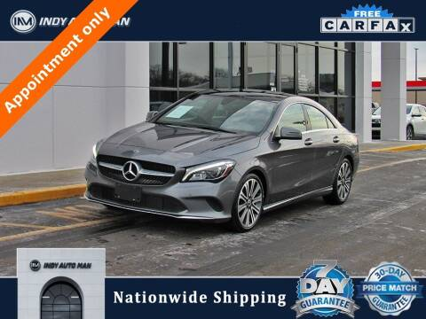 2018 Mercedes-Benz CLA for sale at INDY AUTO MAN in Indianapolis IN