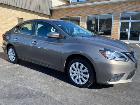 2016 Nissan Sentra for sale at C Pizzano Auto Sales in Wyoming PA