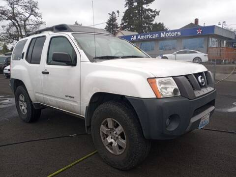 2005 Nissan Xterra for sale at All American Motors in Tacoma WA