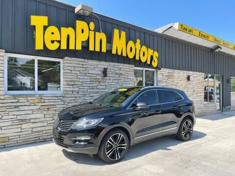 2017 Lincoln MKC for sale at TenPin Motors LLC in Fort Atkinson WI