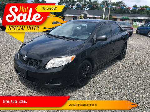 2009 Toyota Corolla for sale at Jims Auto Sales in Lakehurst NJ