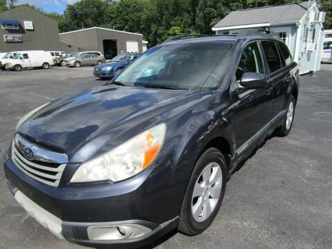 2011 Subaru Outback for sale at Route 12 Auto Sales in Leominster MA