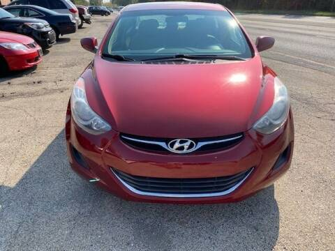 2013 Hyundai Elantra for sale at NORTH CHICAGO MOTORS INC in North Chicago IL