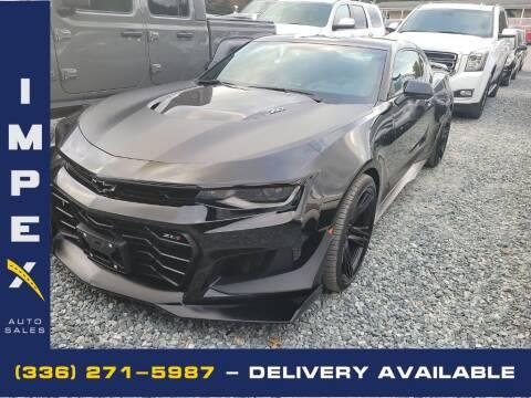 2019 Chevrolet Camaro for sale at Impex Auto Sales in Greensboro NC
