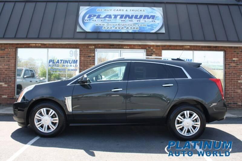 2015 Cadillac SRX for sale at Platinum Auto World in Fredericksburg VA