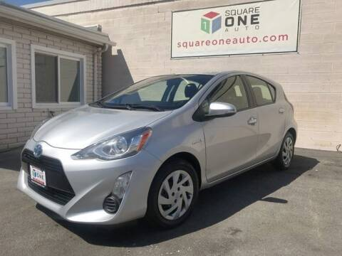 2015 Toyota Prius c for sale at SQUARE ONE AUTO LLC in Murray UT