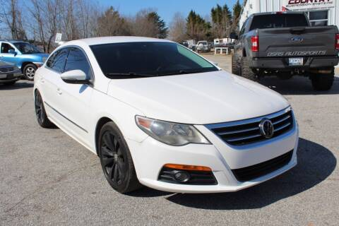 2010 Volkswagen CC for sale at UpCountry Motors in Taylors SC