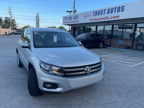 2012 Volkswagen Tiguan for sale at Trust Autos, LLC in Decatur GA