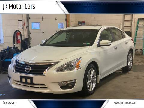 2013 Nissan Altima for sale at JK Motor Cars in Pittsburgh PA
