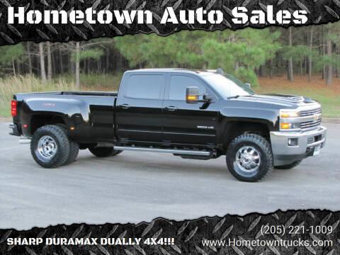 2018 Chevrolet Silverado 3500HD for sale at Hometown Auto Sales - Trucks in Jasper AL