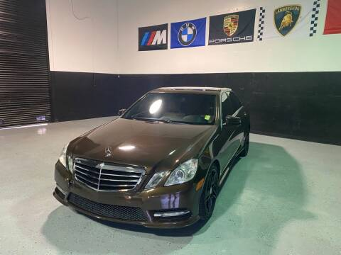 2012 Mercedes-Benz E-Class for sale at LG Auto Sales in Rancho Cordova CA