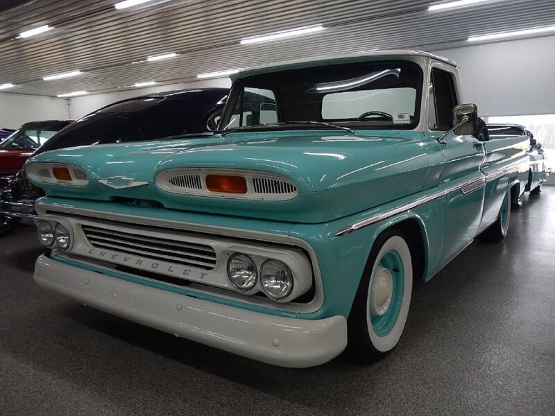 1966 Chevrolet C/K 10 Series for sale at Custom Rods and Muscle in Celina OH