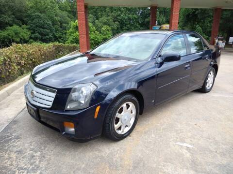 2007 Cadillac CTS for sale at A&Q Auto Sales in Gainesville GA