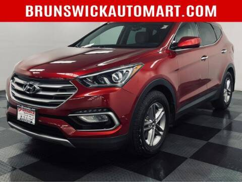 2017 Hyundai Santa Fe Sport for sale at Brunswick Auto Mart in Brunswick OH