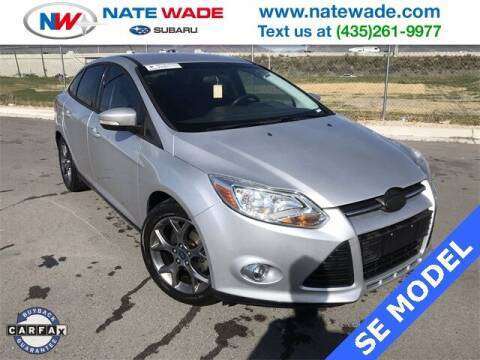 2013 Ford Focus for sale at NATE WADE SUBARU in Salt Lake City UT