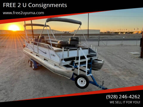 1987 Suntracker  Pontoon Barge for sale at FREE 2 U Consignments in Yuma AZ