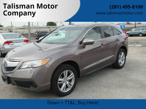 2013 Acura RDX for sale at Talisman Motor Company in Houston TX