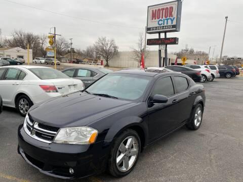 2011 Dodge Avenger for sale at Motor City Sales in Wichita KS