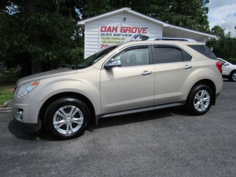 2011 Chevrolet Equinox for sale at Oak Grove Auto Sales in Kings Mountain NC