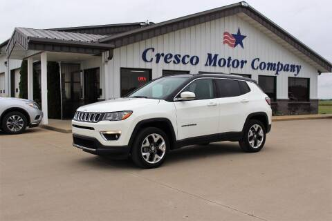 2018 Jeep Compass for sale at Cresco Motor Company in Cresco IA