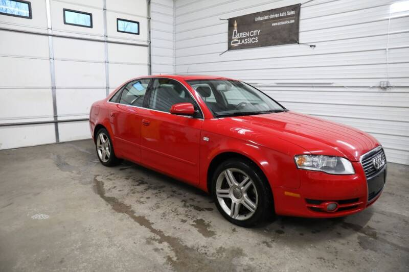 2007 Audi A4 for sale at Queen City Classics in West Chester OH