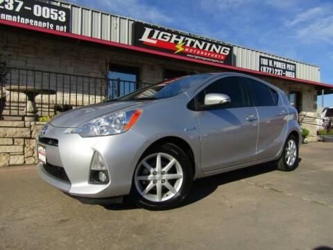 2013 Toyota Prius c for sale at Lightning Motorsports in Grand Prairie TX
