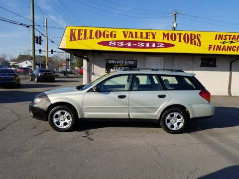 2007 Subaru Outback for sale at Kellogg Valley Motors in Gravel Ridge AR