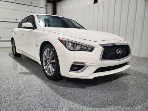 2018 Infiniti Q50 for sale at Hatcher's Auto Sales, LLC in Campbellsville KY