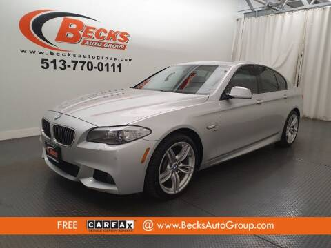 2012 BMW 5 Series for sale at Becks Auto Group in Mason OH