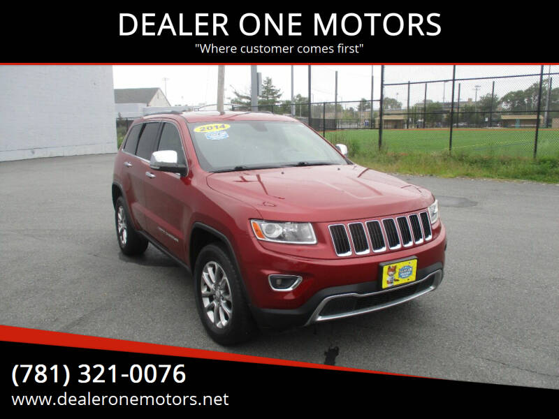 2014 Jeep Grand Cherokee for sale at DEALER ONE MOTORS in Malden MA
