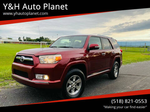 2010 Toyota 4Runner for sale at Y&H Auto Planet in West Sand Lake NY