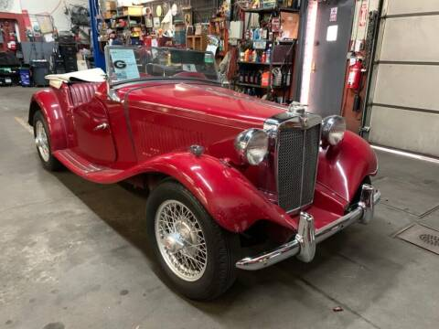 1952 MG TD for sale at Gullwing Motor Cars Inc in Astoria NY