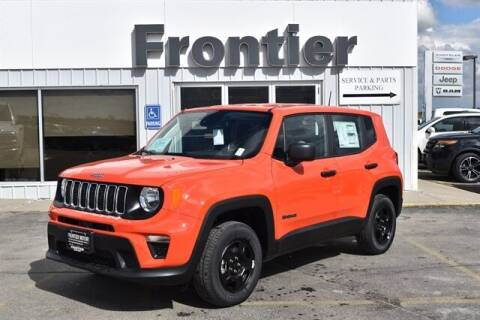 2021 Jeep Renegade for sale at Frontier Motors Automotive, Inc. in Winner SD