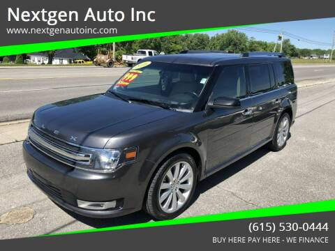 2016 Ford Flex for sale at Nextgen Auto Inc in Smithville TN