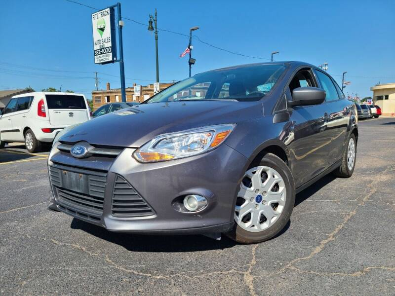 2012 Ford Focus for sale at Rite Track Auto Sales in Detroit MI