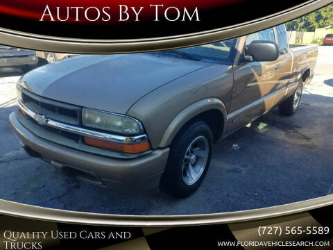 2000 Chevrolet S-10 for sale at Autos by Tom in Largo FL