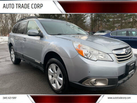 2012 Subaru Outback for sale at AUTO TRADE CORP in Nanuet NY