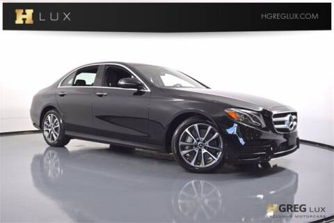 2020 Mercedes-Benz E-Class for sale at HGREG LUX EXCLUSIVE MOTORCARS in Pompano Beach FL