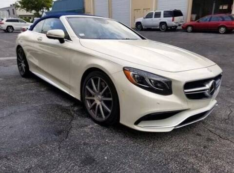 2017 Mercedes-Benz S-Class for sale at Suncoast Sports Cars and Exotics in West Palm Beach FL