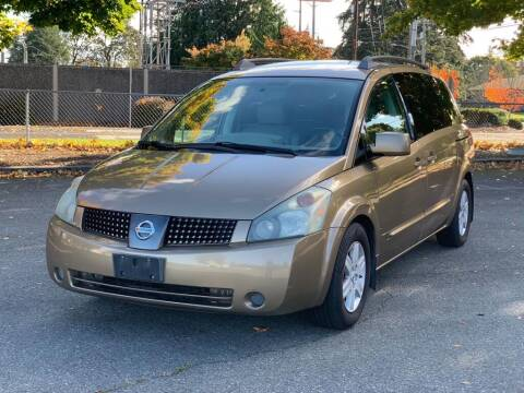 2004 Nissan Quest for sale at Q Motors in Tacoma WA